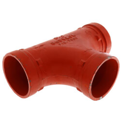 "2"" 7060 Grooved Tee Product Image"