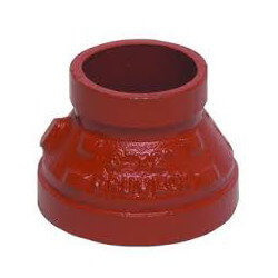 "3"" x 2-1/2"" 7076 Grooved x Thread Concentric Reducer Product Image"