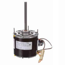 3-Spd Single Shaft Blower Motor (208-230V, 1050 RPM, 1/4, 1/5, 1/7 HP) Product Image