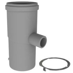 "3"" x 7"" PolyPro Condensate Drain w/ LB2 Product Image"