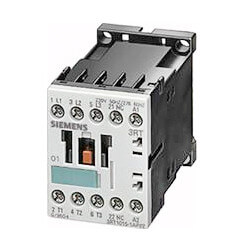 3 Pole 24V 9 Amp 1N/O Auxiliary Contactor Product Image