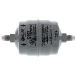 """C-052 1/4"""" SAE Flare Liquid Line Filter Drier 1/3 - 2 Ton (5 Cubic Inches) Product Image"""