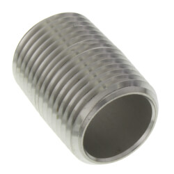 "3/4"" x 5-1/2"" Stainless Steel Nipple Product Image"