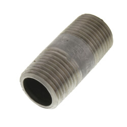 "1/2"" x 1-3/4"" Stainless Steel Nipple Product Image"