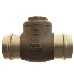 "2"" Press Swing Check Valve (Lead Free)  Product Image"