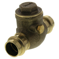 "1/2"" Press Swing Check Valve (Lead Free)  Product Image"