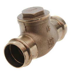 "1-1/2"" Press Swing Check Valve (Lead Free)  Product Image"