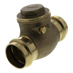 "1-1/4"" Press Swing Check Valve (Lead Free)  Product Image"