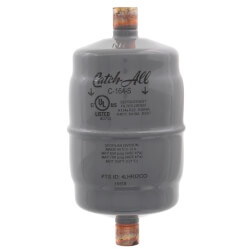 """C-164-S 3/8"""" ODF Solder Liquid Line Filter Drier (3/4 to 5 Ton) Product Image"""
