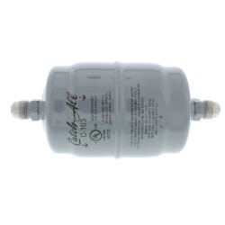 "C-163 3/8"" SAE Flare Liquid Line Filter Drier 3/4 to 5 Ton (16 Cubic Inches) Product Image"