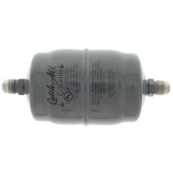 """C-163-HH 3/8"""" SAE Flare Liquid Line Filter Drier w/ Burnout Cleanup Core (3/4 to 5 Ton) Product Image"""