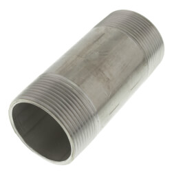 """3/4"""" x 3-1/2"""" Stainless Steel Nipple Product Image"""