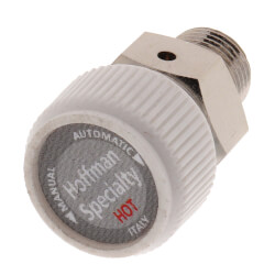 """508, 1/8"""" Straight Steam Convector Air Valve Product Image"""