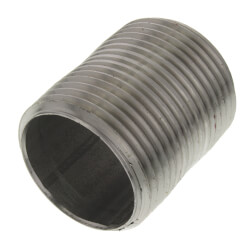 "1"" x Close Stainless<br>Steel Nipple Product Image"
