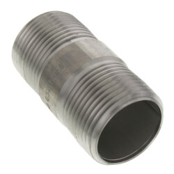 """3"""" x 3"""" Stainless Steel Nipple Product Image"""