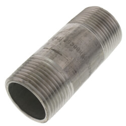 "1"" x 3"" Stainless<br>Steel Nipple Product Image"