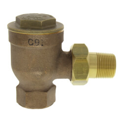 """17C-3, 3/4"""" Angle Thermostatic Trap Product Image"""