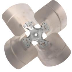 "16"" 4 Wing CW Fan Blade w/ Fixed Hub (33°) Product Image"
