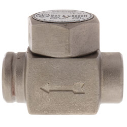 "TD6524, 1/2"" Thermodisc Steam Trap (w/o Strainer) Product Image"