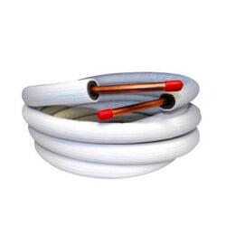 "1/4"" LL x 3/8"" SL Mini Split Line Set w/ Flare Nuts & EZ Pull Insulation (40 Ft.) Product Image"