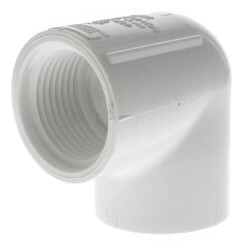 "1"" PVC Sch. 40<br>90° Threaded Elbow (FIPT) Product Image"