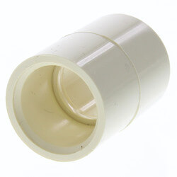 "1/2"" CPVC CTS<br>Coupling (Socket) Product Image"