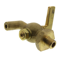 "1/4"" Spring Bottom, Bibb Nose Air Cock w/ Lever Handle Product Image"