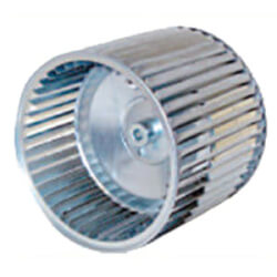 """10"""" x 8"""" CCW Double-Inlet Blower Wheel Product Image"""