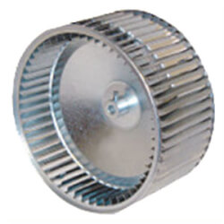 """10-5/8"""" Diameter, 1/2"""" Hub Counter-Clockwise Concave Direct Drive Blower Wheel Product Image"""