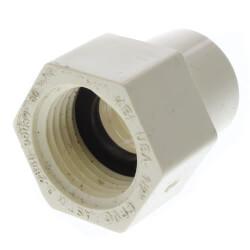 "1/2"" CTS CPVC Female Adapter w/ Gasket (Socket x NPSC) Product Image"