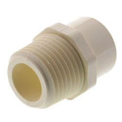 "1/2"" CTS CPVC Male Adapter (MIPT x Socket) Product Image"