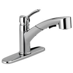 Collins Single Handle Pull-Out Kitchen Faucet (DST) Product Image
