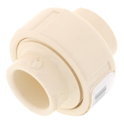 """1/2"""" CTS CPVC Union (Socket w/ EPDM O-ring Seal) Product Image"""