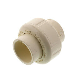 "3/4"" CTS CPVC Union (Socket w/ EPDM O-ring Seal) Product Image"