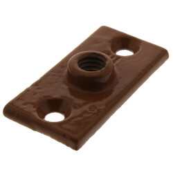 """1/2"""" Copper Epoxy Coated Ceiling Plate Product Image"""