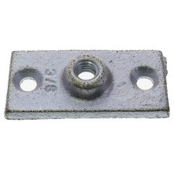 """3/8"""" Electro-Galvanized Ceiling Plate Product Image"""