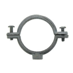 """1-1/4"""" Electro-Galvanized Split Ring Extension Hanger (Non-Hinged) Product Image"""