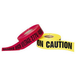 """Caution"" Yellow Barricade Tape<br>(3"" x 1000 Ft) Product Image"