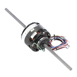 "4-5/16"" 3-Spd Dbl Shaft, Blower Motor (115V, 1550 RPM, 1/10, 1/15, 1/20 HP) Product Image"