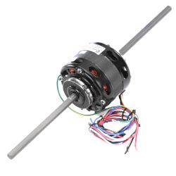 "4-5/16"" 3-Spd Dbl Shaft, Blower Motor (115V, 1550 RPM, 1/10, 1/15, 1/20 HP) Product Image"