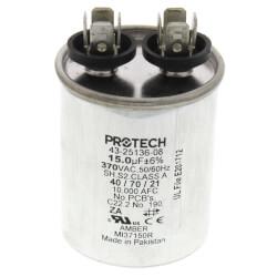 15 MFD Single Round Capacitor (370V) Product Image