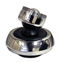 """15/16""""M x 55/64""""F Chrome Plated Swivel/Spray Faucet Aerator (Lead Free) Product Image"""