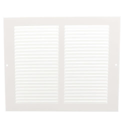 """8"""" x 6"""" (Wall Opening Size) White Return Air Grille (650 Series) Product Image"""