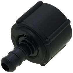 """3/8"""" PEX Crimp x 1/2"""" Lav PureFlow Adapter (Plastic Nut) Product Image"""