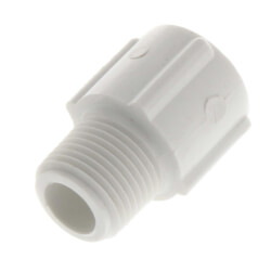 "3/8"" PVC SCH 40<br>Male Adapter Product Image"