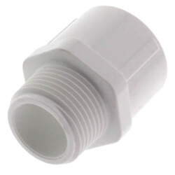 """3/4"""" PVC SCH 40<br>Male Adapter Product Image"""
