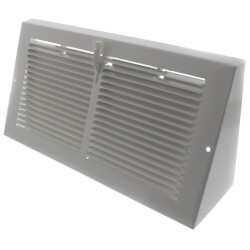 "12"" x 6"" Baseboard Register with Damper<br>(655 Series) Product Image"