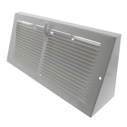 """14"""" x 6"""" Baseboard Register with Damper <br>(655 Series) Product Image"""