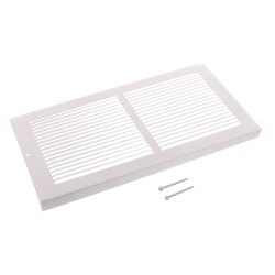 """30"""" x 8"""" Golden Sand Baseboard Return Air Grille (657 Series) Product Image"""