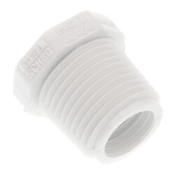 "3/8"" x 1/4"" PVC Sch. 40<br>Male x Female Bushing Product Image"
